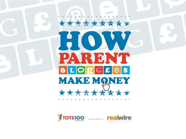 Tots100/RealWire Parent Blogger Surveys 2012