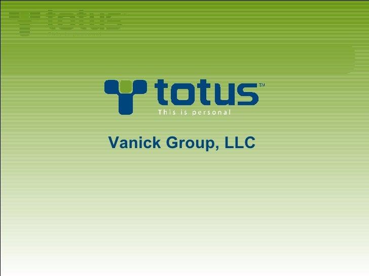 <ul><li>Vanick Group, LLC   </li></ul>