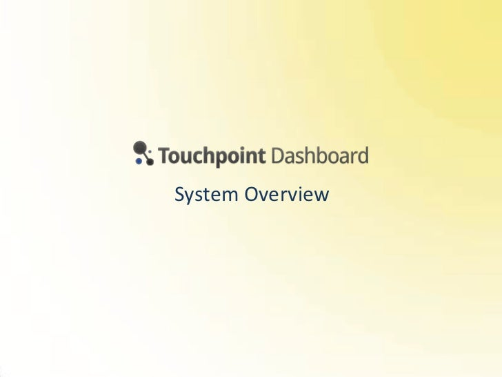 Touchpoint Dashboard, Customer Journey Mapping software