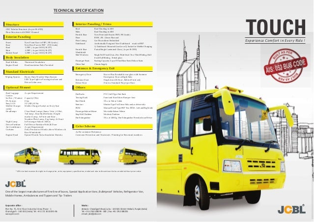 Touch School Bus By Jcbl