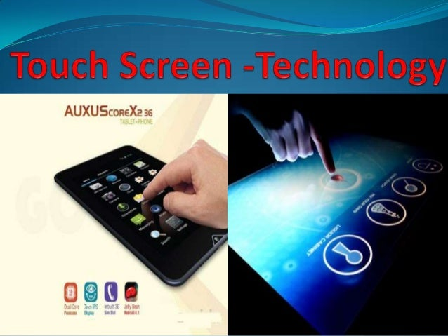 ComponentsTouch sensorControllerSoftware driver