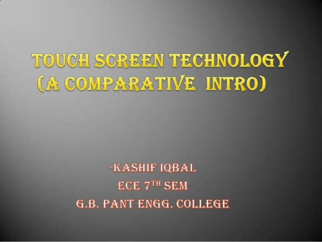 introduction         Whether it's on a mobile device, tablet, or medical device, technology in the field of electronic...