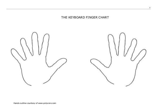 Touchtyping Skills Worksheet A (v1)