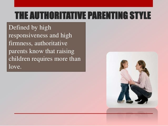 authoritarian vs authoritative parenting Free essay: authoritarian vs authoritative parenting children do not come with guidelines or instructions what they do come with is a crucial set of.