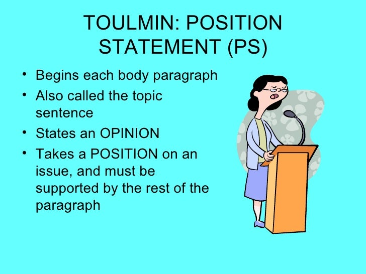 toulmin thesis Toulmin model of argument: the twentieth-century british philosopher stephen toulmin noticed that good, realistic arguments typically will consist of six parts.