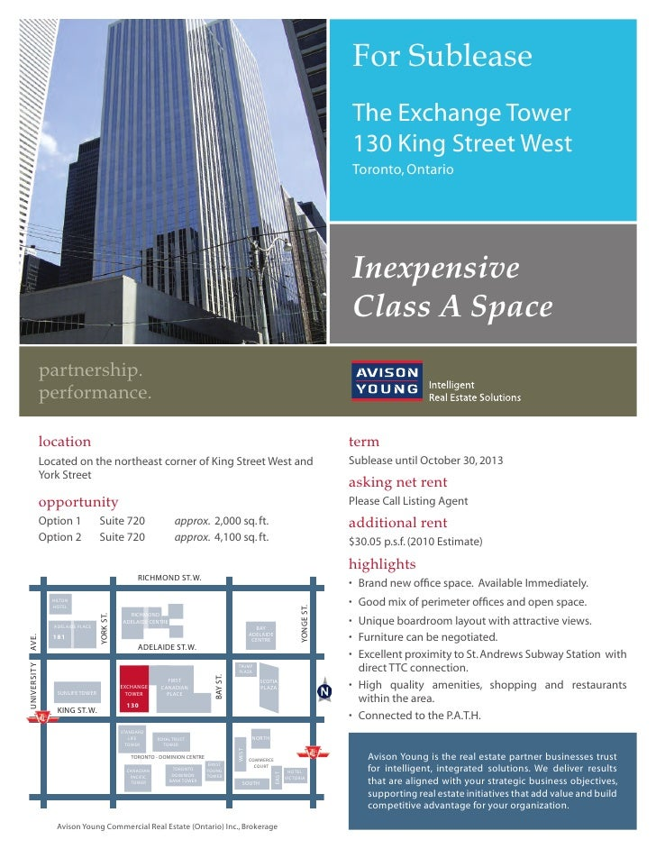 For Sublease                                                                                                              ...