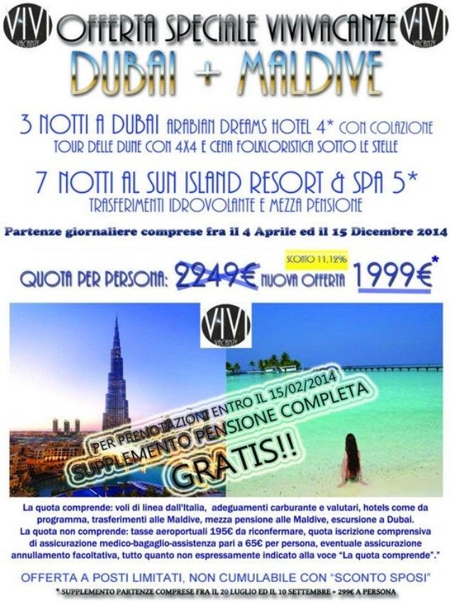 Tour Dubai + Maldive