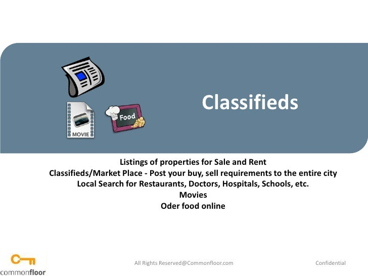 How to use Market Place for posting classifieds