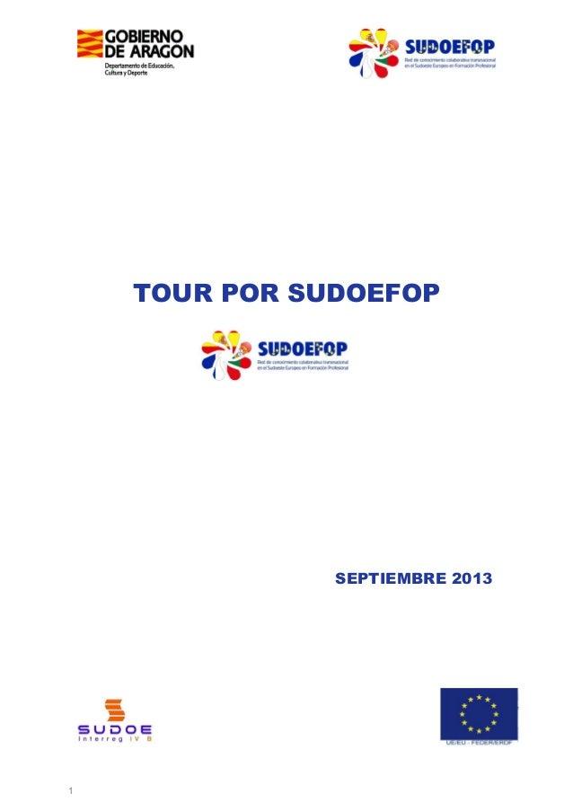 TOUR POR SUDOEFOP  SEPTIEMBRE 2013  1