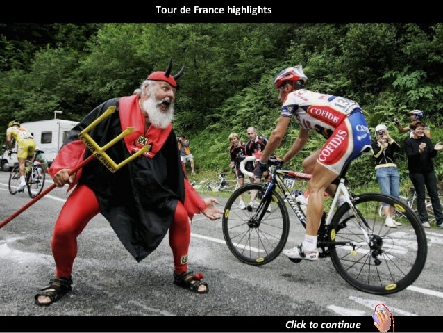 Tour de France highlights. (Nikos)