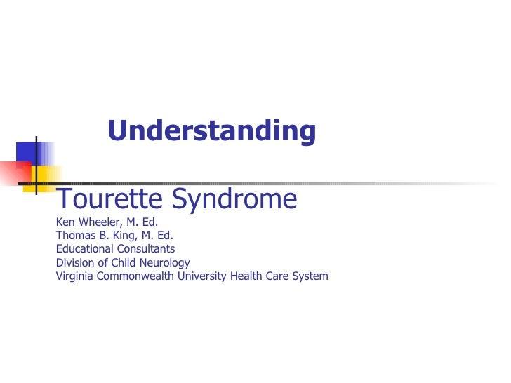 Tourette Syndrome Presentation
