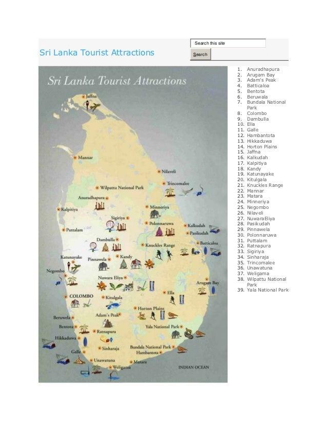 Search this siteSri Lanka Tourist Attractions   Search                                                   1.    Anuradhapur...