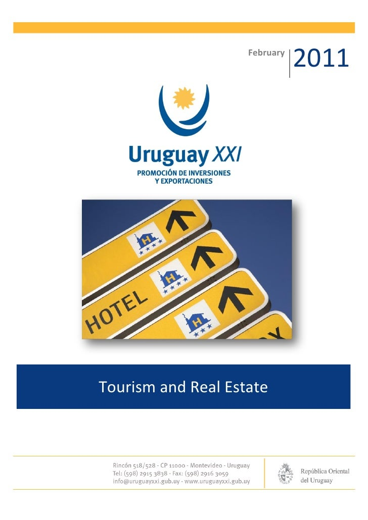 February                               2011Tourism and Real Estate