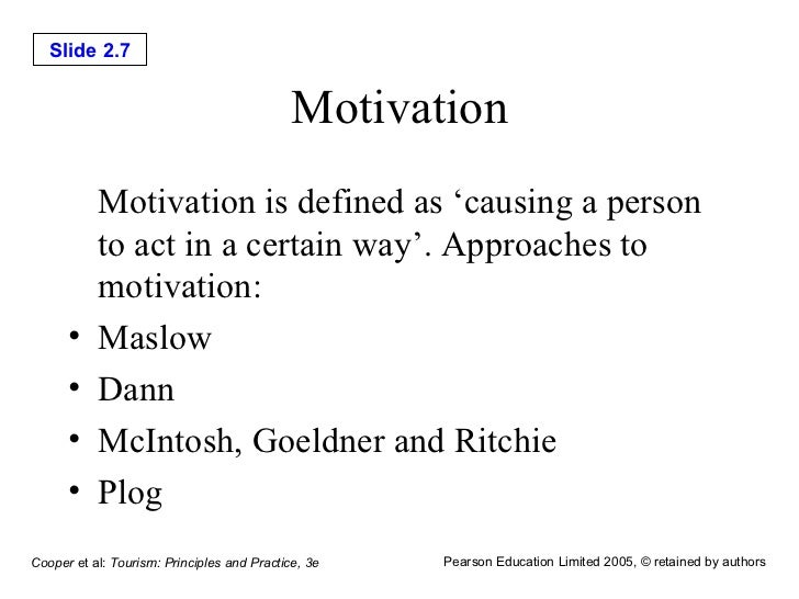 tourism motivation View tourist motivation research papers on academiaedu for free.
