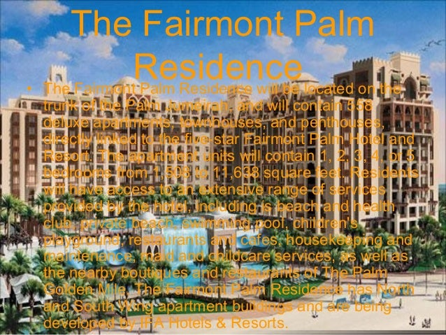 Brand new penthouse in fairmont residence for sale