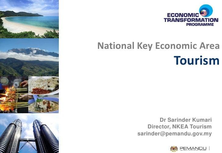 关键经济领域 – 旅游 NKEAs – Tourism