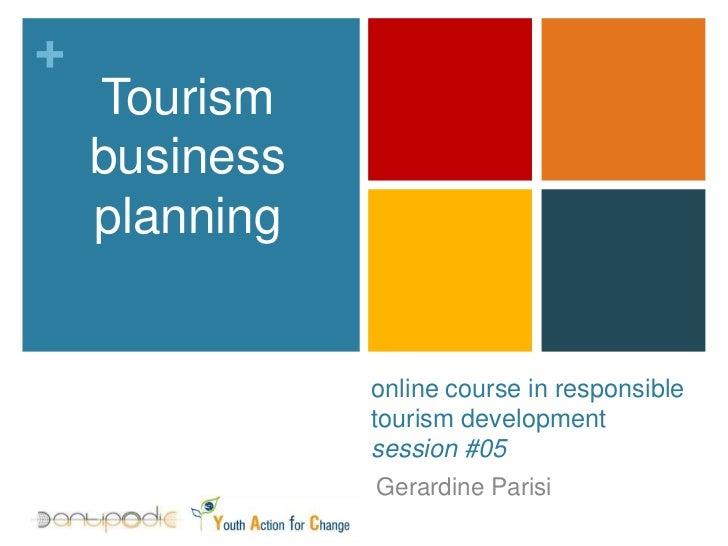Tourism business planning
