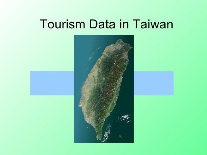 Tourism Data In Taiwan (Johnson & Jillian)