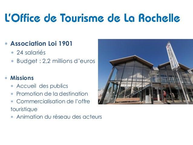 Office de tourisme la rochelle pour integra elodie poudevigne - Office de tourisme propriano ...