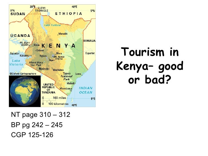 Tourism in kenya– good or bad