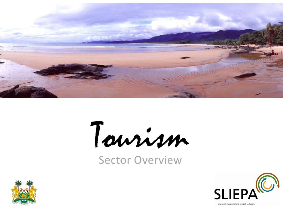 Tourism Sector Overview