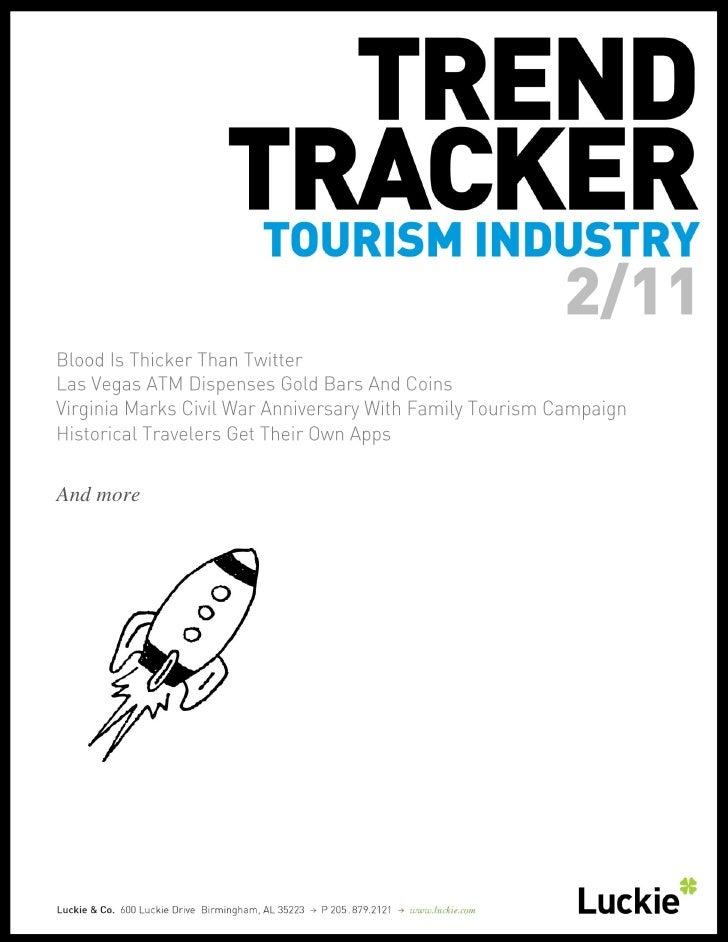 Tourism Trend Tracker February 2011