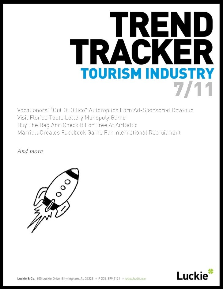 Tourism Trend Tracker July 2011