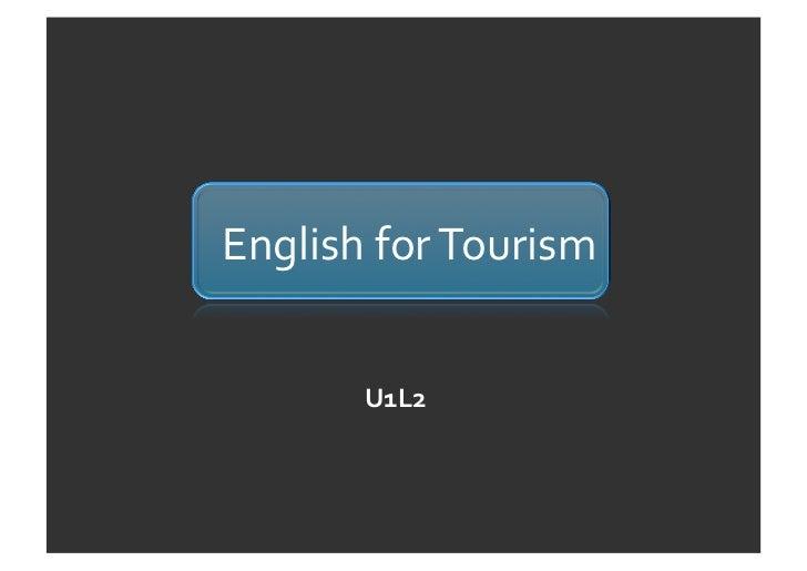 EnglishforTourism       U1L2