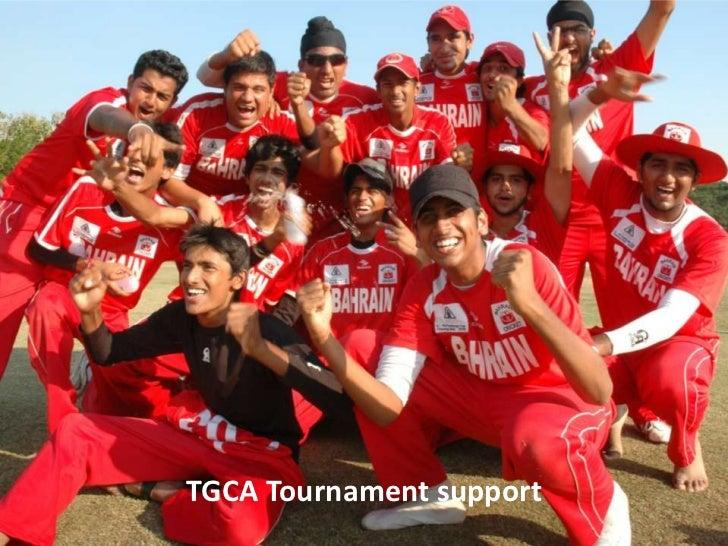 TGCC Tournament support
