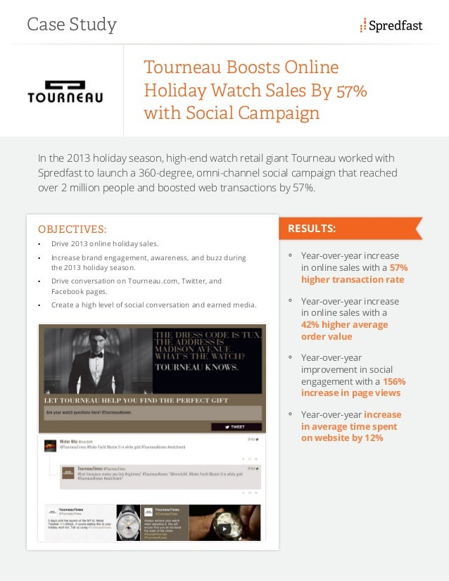 See how Tourneau boosted holiday sales with social campaign