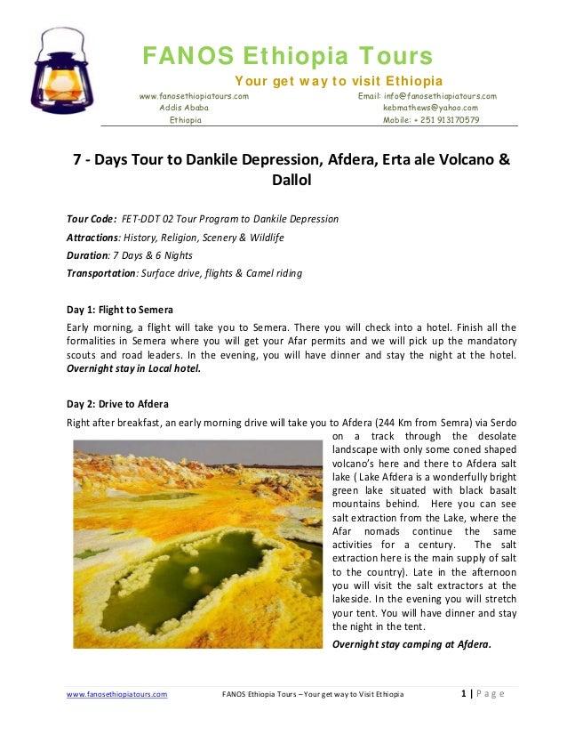 FANOS Ethiopia Tours Your get way to visit Ethiopia www.fanosethiopiatours.com Addis Ababa Ethiopia  Email: info@fanosethi...