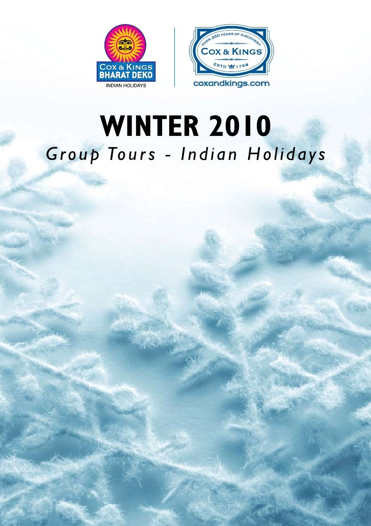 Tour of India - Bharat Deko - Winter Pacakages Individual Customised Tours by Cox and Kings