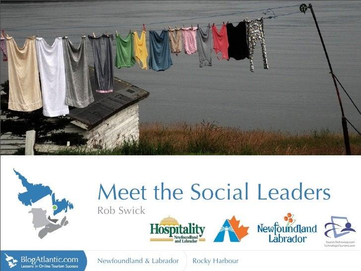 Meet the Social Media Leaders - Rocky Harbour, NL