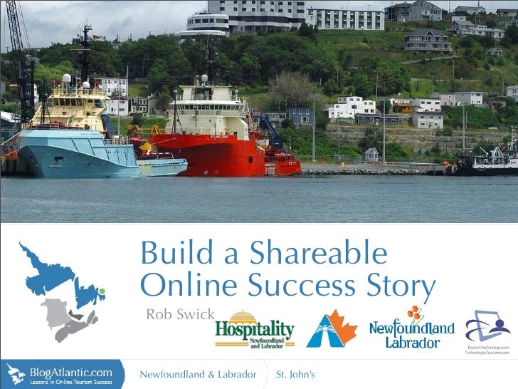 Build a Shareable Online Experience - Newfoundland & Labrador