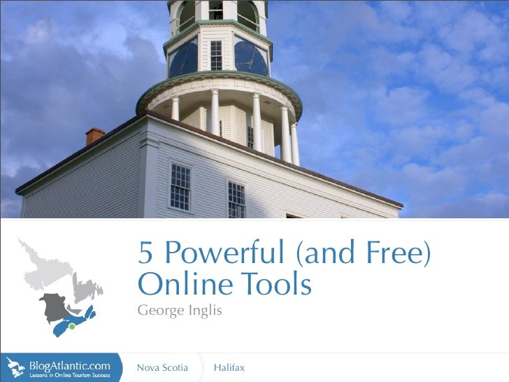 http://www.vte.qc.ca                            5 Powerful (and Free)                        Online Tools                 ...