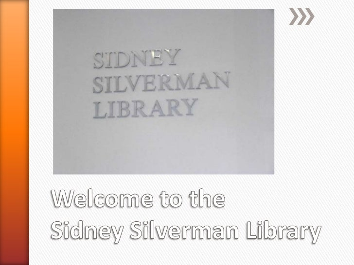 The entrance to the Sidney Silverman Library is located on the 2nd floor ofthe Pitkin Education Center.