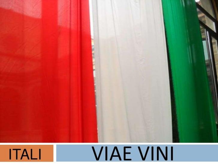 ITALI   VIAE VINI