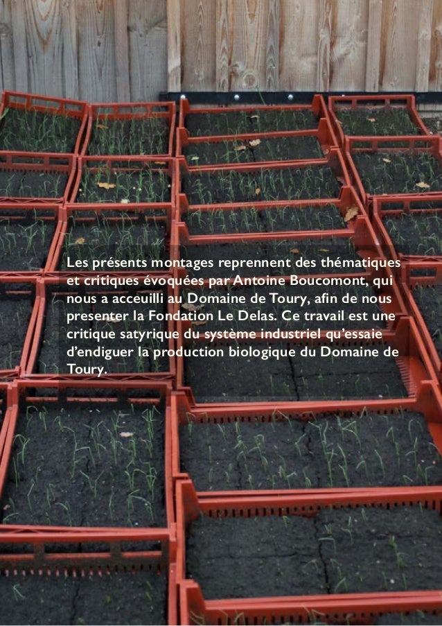 Les présents montages reprennent des thématiques  et critiques évoquées par Antoine Boucomont, qui  nous a acceuilli au Do...