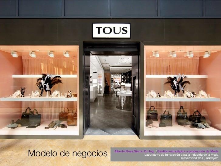 Modelo de negocios   Alberto Rosa Sierra, Dr. Ing. / Gestión estratégica y producción de Moda                             ...