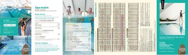 Tous les forfaits acc s abonnements et soins du spa marin for Video sexe amateur en exterieur