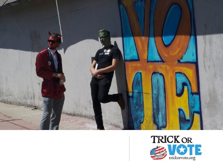Trick or Vote Youth Call
