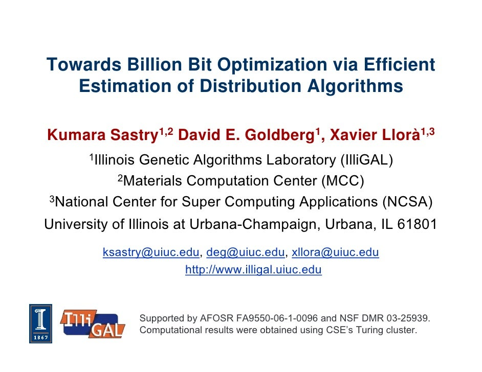Towards billion bit optimization via parallel estimation of distribution algorithm