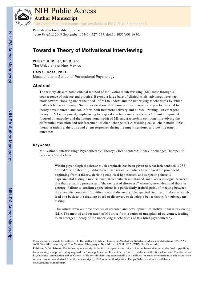 NIH Public Access                            Author Manuscript                            Am Psychol. Author manuscript; a...