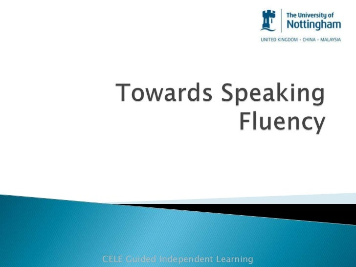 CELE Guided Independent Learning