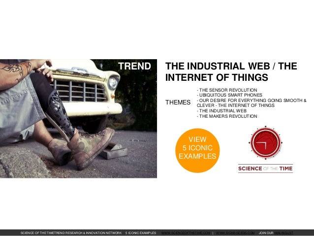 Towards the Industrial Web / The Internet of Things