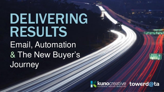 DELIVERING Email, Automation & The New Buyer's Journey RESULTS
