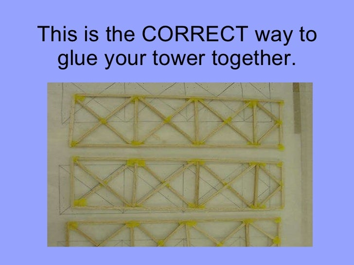 How To Build A Tower