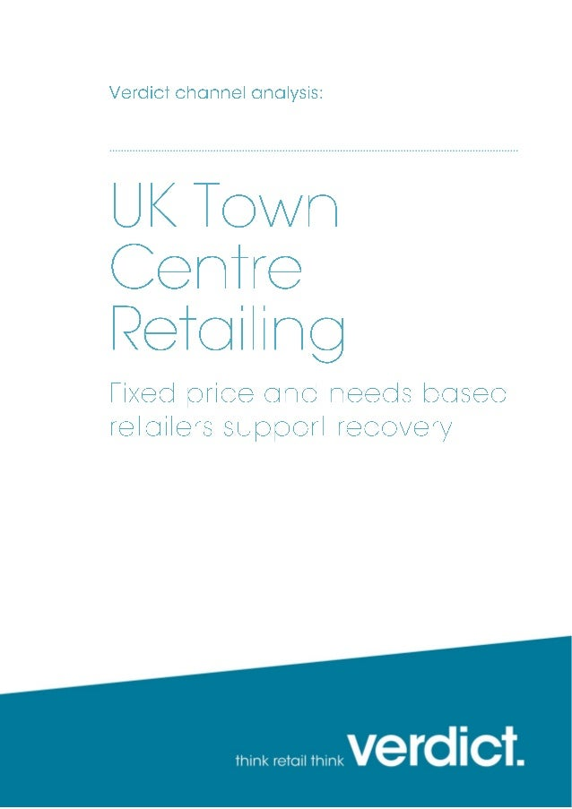 UK Town Centre Retailing sample pages