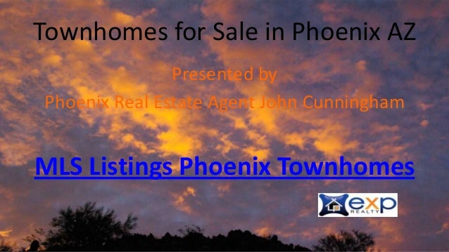 Townhomes for sale in phoenix arizona