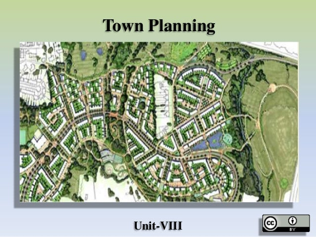 Town Planning Unit-VIII